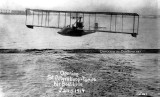 1914 - Tony Jannus piloting the first commercial winged airline flight for the St. Petersburg-Tampa Airboat Line
