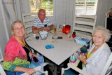 May 2013 - Wendy, Don and Esther after dinner and drinks at the Tarpon Bay Restaurant inside the Hyatt Coconut Point Resort
