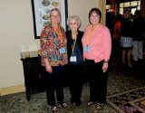 May 2013 - Wendy, Esther and Karen at the 2013 Florida State PEO Convention in Bonita Springs