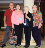 May 2013 - Don, Karen, Esther and Wendy at the 2013 Florida State PEO Convention in Bonita Springs