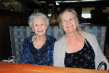 May 2013 - Wendy and Esther before lunch at Cheddar's in Ft. Myers after the PEO Convention concluded