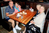 May 2013 - Don, Karen, Wendy and Esther after lunch at Cheddar's in Ft. Myers