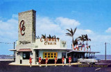 1950's - Chimney Chain Drive-In on the 79th St Causeway, Miami Beach