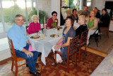 March 2013 - guests at Esther Criswell's 92nd birthday party dinner at Wendy and Jim's in St. Petersburg