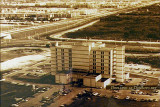 1977 - aerial view looking south at Palmetto General Hospital in Hialeah