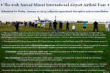 Information about the 2014 20th Annual Miami International Airport Airfield Tour
