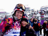 February 2014 - Justin Reiter and Brenda Reiter at the 2014 Winter Olympics in Sochi, Russia