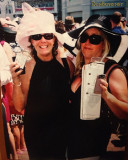 May 2010 - Brenda Reiter with Kim DeLeo at the Kentucky Derby