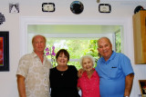 July 2014 - Jim, Karen, Esther and Don in St. Petersburg