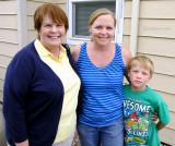 June 2014 - Karen C., Karen Dawn and Kyler on our last night in Colorado Springs