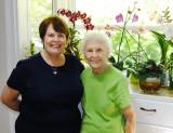 June 2014 - Karen and her mom Esther in St. Petersburg