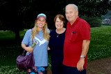 May 2014 - Lisa Marie Criswell with Aunt Karen and Uncle Don in Franklin, Tennessee
