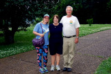 May 2014 - Karen with her niece Lisa Marie Criswell and brother Jim Criswell in Franklin, Tennessee