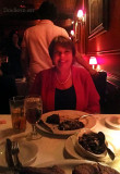 June 2012 - Karen at our 30th anniversary dinner at Christy's Restaurant in Coral Gables