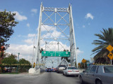 2011 - historic lift bridge northbound into Hialeah from Miami Springs