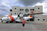 August 2014 - ADCS Gary Butler USCG-Retired in front of HC-144A #CG-2305