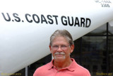 2014 - ADCS Gary Butler USCG (Ret.) in front of HC-144A #CG-2305