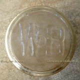 1950's - the bottom of a milk bottle from Dr. John G. DuPuis' White Belt Dairy, Miami's first dairy farm