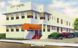 1940's - City Hotel on Tamiami Trail