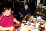 June 2014 - Jimmy Farmer, old Joel Harris and Jim Garbee at Chili's in Smyrna