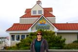 November 2014 - Karen at the Kentmorr Restaurant and Crab House in Stevensville, Maryland