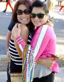 2015 Gasparilla Parade of Pirates beauties on Bayshore Boulevard