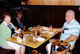 June 2015 - Karen with Diane Dean-Cox and Don at a three hour lunch at Northstar Mall in San Antonio, Texas