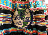 1968 - a Dade County Port Authority new Jetport decal promoting the new airport in the Everglades