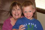 June 2011 - Karen with our grandson Kyler Kramer in Colorado Springs
