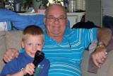 June 2015 - Kyler Kramer with grandpa Don Boyd in Colorado Springs