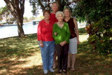 March 2011 - Esther Majoros Criswell with her three children Karen, Jim and Wendy