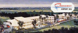1960's - an artist rendering for the Crossway Airport Inn on LeJeune Road