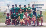 1969 - softball players on the field at Robert E. Lee Junior High School (names below)