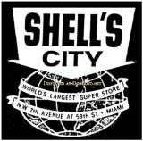 1963 - Shell's City logo in an advertisement in the Miami News