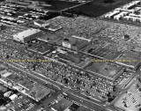 1965 - aerial view of 163rd Street Shopping Center