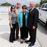 March 2016 - Linda Sullivan, Rick Sullivan, Karen and Eric Olson at Ray Kyse's funeral in Lake Worth