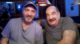 March 2016 - Kev Cook and Don Mamula after dinner and Heinekens at Bryson's Irish Pub