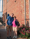 August 2013 - Karen with Marc Hookerman at Guido's On The Hill in St. Louis