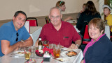 August 2013 - Karen with Don and Marc Hookerman at Guido's On The Hill in St. Louis