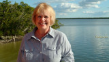 January 2008 - Karen at Everglades City, Florida