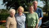 January 2008 - Esther, Karen, Wendy and Jim Hager at Bonita Springs, Florida