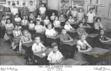 1958 - Mr. Robert M. Moloney's 6th grade class at Twin Lakes Elementary in Hialeah (names below, scroll down)