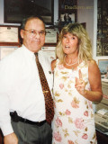 1998 - Don and Brenda in his Airside Ops office at Miami International Airport