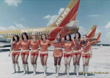 A bevy of beauties from the great Southwest Airlines in 1971