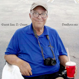 June 2016 - Eddy Gual, the dean of aviation photography in South Florida, at El Dorado for the first time since his stroke