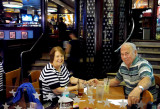 July 2016 - Karen and Don Boyd after dinner at TGI Friday's at The Falls