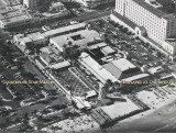 Late 1950's - aerial photo of 21st Street and the ocean on Miami Beach