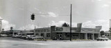 Late 1950's - Tarasch Pharmacy, an AG store, a 5&10, and others at the NE corner of NE 163rd Street and West Dixie Highway, NMB