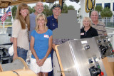 June 2008 - Mrs. & Mr. George Levien, Michelle and CAPT Patrick Stadt USCG, incognito friends, Karen and Don Boyd