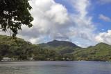 Village Panorama, Huahine.
